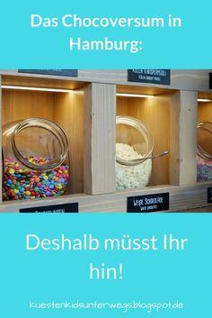 Die 7 schokoladigsten Gründe für einen Besuch im Chocoversum. Das Chocoversum in Hamburg ist die schokoladigste Adresse in Hamburg und definitiv einen Besuch wert! Schokolade ohne Ende und Ihr mittendrin - ist das nicht ein Traum? Auf Küstenkidsunterwegs liefere ich Euch 7 schokoladige Gründe für einen Besuch im Chocoversum und erzähle Euch, was wir mit unseren Kindern dort alles erlebt haben. #hamburg #ausflug #kinder #familie #chocoversum #schokoladenmuseum #schokolade