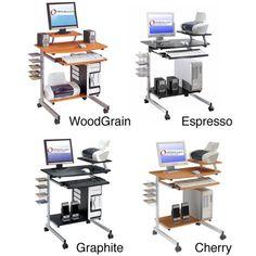 Ergonomically Designed Space-Saver Computer Desk | Overstock.com Shopping - The Best Deals on Desks