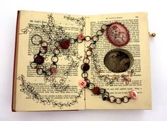 Betty Pepper's Book Keeping - book arts & embroidery together