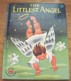 I loved this little Christmas book as a child - The Littlest Angel. There was also a great tv movie from the starring Johnny Whitaker and Fred Gwynne. Christmas Tree Angel, Christmas Past, Retro Christmas, Little Christmas, Kids Christmas Movies, Christmas Books, A Christmas Story, Old Children's Books, Vintage Children's Books