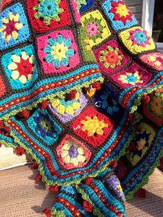 Ravelry: Juliegreger's My Summer Garden Granny
