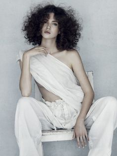 Sally Brooks British Hairdresser of the Year 2018 Nominee Collection - HJI Next London, Model Agency, Hair Inspo, Hairdresser, Afro, One Shoulder Wedding Dress, Curly Hair Styles, Strapless Dress, Poses