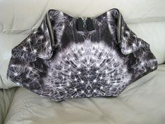 "Alexander McQueen ""Dandelion"" Satin De-Manta Clutch - New With Tags | eBay"