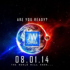 Happy August everyone! Looking forward to a historical month of activity!! #jw #jworg jw.org
