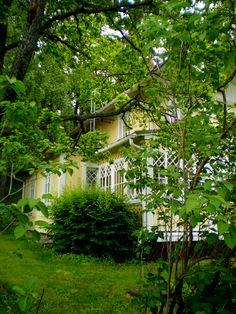 Old Villa,Ruisalo,Turku Finland Wooden Buildings, Wooden Houses, Turku Finland, Finland Travel, Archipelago, Trip Planning, Family Travel, Travel Destinations, Villa