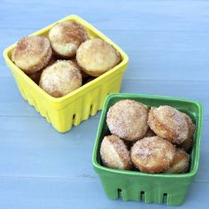 The Sweets Life: Mini Donut Muffins Have made these before and they are awesome!!