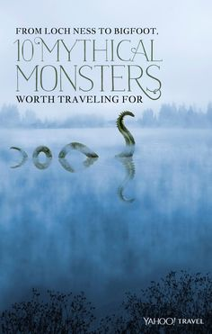 From Loch Ness to Bigfoot, 10 Mythical Monsters Worth Traveling For Spooky! Weird Creatures, Fantasy Creatures, Sea Creatures, Mythical Creatures List, Strange Beasts, Iceland Photos, Loch Ness Monster, Legendary Creature, Urban Legends