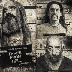 Rob Zombie Art, Rob Zombie Film, Zombie Movies, Best Horror Movies, Horror Movie Characters, Sheri Moon Zombie, The Devil's Rejects, Evil Dead, Ghost Movies