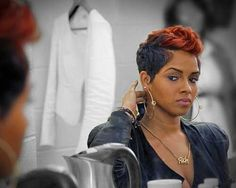 Images of black women short hairstyles