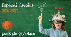 Especial Regresso às Aulas para Escolas - Ano letivo 2016 - 2017