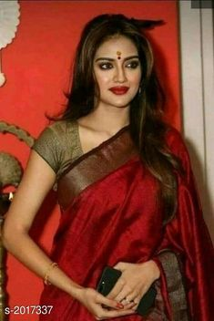 India is so special for the rich cultural variety and colourful dressing traditions. Saree (sari) is the best among Indian dresses. Saris, Saree Trends, Stylish Sarees, Saree Models, Elegant Saree, Saree Look, Indian Fashion Dresses, How To Pose, Most Beautiful Indian Actress