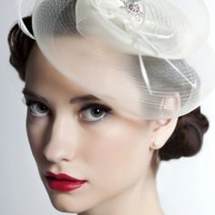 A bride's guide to wedding veils, and ideas for modern and classic alternatives to the classic veil include feathered hair pieces and hats.