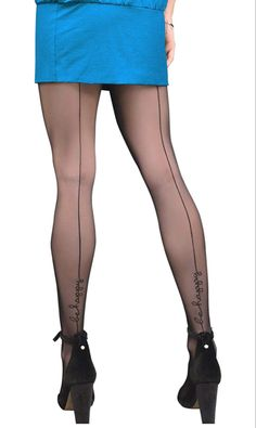 Gatta TRISH 25 BACK SEAM Tights - See more tights at www.fashion-tights.net ‪#tights #pantyhose #hosiery #nylons #fashion #legs‬ #legwear #advertising #influencer #collants