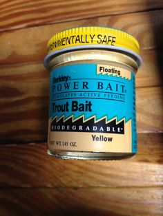 Berkley Powerbait Trout Bait YELLOW 1.45 OZ BIODEGRADABLE #BERKLEY