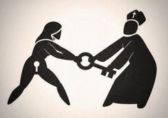 Aborto Libre, seguro y gratuito ! NO MÁS ROSARIOS EN NUESTROS OVARIOS