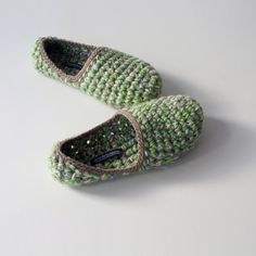Low Rider house slippers Crochet slippers in by WhiteNoiseMaker