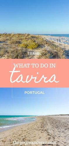The best things to do in Tavira, Portugal. Explore one of the most picturesque beach towns in the Algarve, including the fishing villages of Santa Luzia and Cabanas de Tavira, Ria Formosa Nature Reserve, Tavira Island, and stunning beaches. #Tavira #Algarve #Portugal