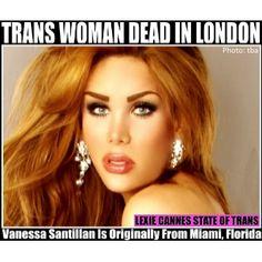 (UPDATE: Arrest made in London killing) Trans woman dead in London; Miami, Hottest Redheads, London Photos, Crossdressers, Transgender, Cannes, Lgbt, Long Hair Styles, Model