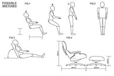 THE EAMES CHAIR AND OTTOMAN - ERGONOMICS AND ANTHROPOMETRICS