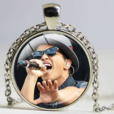 Bruno Mars Musician Necklace Sexy Cute Singer Pendant New Fashion Design Kids Birthday Favors and Gift Bridesmaid Jewelry #Affiliate