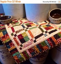 ON SALE Galavanting Quilt Kit from Kim Diehl's Simple Whatnots Club, Welcome Wagon Collection for Henry Glass Fabrics