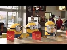 Despicable Me 2 McDonalds Happy Meal Commercial with the Minions