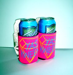 Broad City YAS KWEEN Coozies (set of 2) by DECADENTWEST on Etsy https://www.etsy.com/listing/234650694/broad-city-yas-kween-coozies-set-of-2