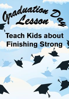 Finish Line - Graduation Day Children's Ministry Lesson http://www.childrens-ministry-deals.com/products/finish-line-graduation-day-childrens-ministry-lesson