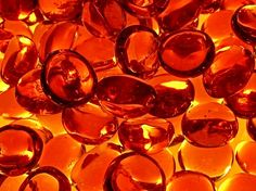 orange beads | Orange Beads