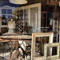 Industrial-ish window at Whimsy.