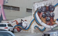 Discover Sicily: Palermo Graffiti Palermo, Sicily, Cool Places To Visit, Trekking, Graffiti, Museum, Europe, Travel, Viajes