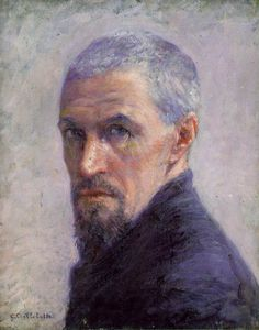 Gustave Caillebotte, self portrait (love)