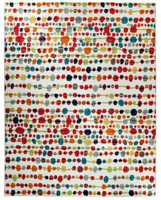 This one works with the sofa bead.  Mohawk Home Candy Craze Area Rug 96 by 120-Inch Multi