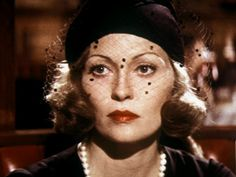 "Faye Dunaway in ""Chinatown"".  My favorite show! :>"