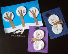 Nosso Espaço Educando: Natal - Boneco de Neve em feltro.