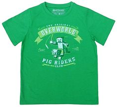Mojang AB - Camiseta de manga corta - para niño Color 12 años #camiseta #friki #moda #regalo