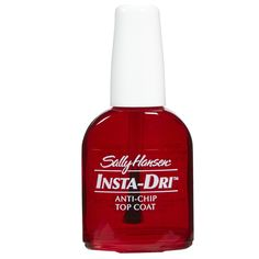 Think a nail top coat that dries in 30 seconds and costs under $6 is too good to be true? This drugstore favorite will make you think again…      Dries nail in 30 seconds     Long-lasting shine