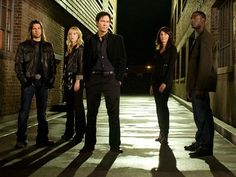 Leverage. This whole group! They should be animated, because they are too awesome to be real.
