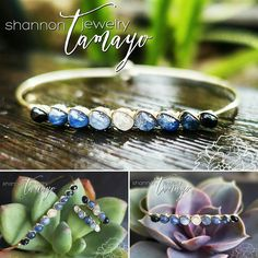 """20% Off All Purchases for Cyber Monday! Use coupon code """"STJCYBERMONDAY""""! Fine Gemstone Sapphire Bracelet - Sapphire Rondelles in Ombre Winter Colors Wire Wrapped in 14K Gold Fill  Available at: http://ift.tt/2gPWnxs  I select sapphire rondelles according to color and size to create this beautiful modern take on a classic timeless look. From the cool white center stone to the iconic vivid sapphire blue to the deep midnight blue so dark it almost looks black - these sapphires are just…"""