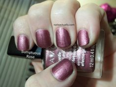 Nails Actually: Avon Suede Polishes and Suede Braid Nail Art