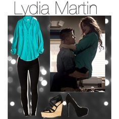 Designer Clothes, Shoes & Bags for Women Teen Wolf Fashion, Teen Wolf Outfits, Fashion Tv, Fashion Today, Edgy Outfits, New Outfits, Cute Outfits, Fashion Outfits, Lydia Martin Style