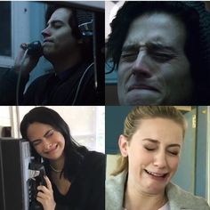 Riverdale Season 2 Filming BTS   Lili and Cami recreating Jughead's Scene
