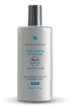 Beauty Edit: Best Mineral Sunscreens | SkinCeuticals Sheer Mineral UV Defense SPF50