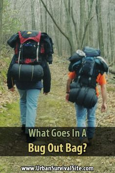 Although this site is geared toward people who intend to ride out disasters at home, there may be instances where you need a bug out bag.