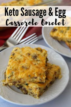 Keto Sausage & Egg Casserole Omelet is an easy and satisfying breakfast that can be made ahead for convenience. Keto Sausage & Egg Casserole Omelet is an easy and satisfying breakfast that can be made ahead for convenience. Sausage Egg Casserole, Breakfast Casserole Easy, Keto Casserole, Sausage And Egg, Breakfast Recipes, Breakfast Ideas, Recipes Dinner, Sausage Breakfast, Diet Breakfast