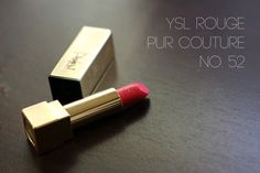 Read My Lips: YSL Rouge Pur Couture #52