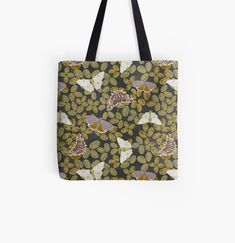 Large Bags, Small Bags, Cotton Tote Bags, Reusable Tote Bags, Clovers, Designer Totes, Running Late, Medium Bags, Poplin Fabric
