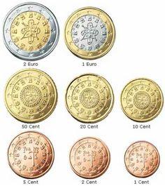 Alle euromunten - Euromunten en biljetten Euro, 5 Cents, Africa, Monogram, Coins, Cavities, Money, Monograms