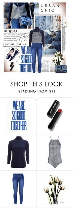 """""""City Slickers: Patent Leather"""" by lacas ❤ liked on Polyvore featuring Chanel, Bobbi Brown Cosmetics, White + Warren, Boohoo and patentleather"""