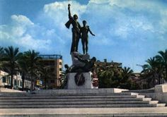 Martyrs Square Statue - #Beirut [1970s]